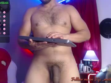 [06-10-21] machohandsome public webcam video from Chaturbate