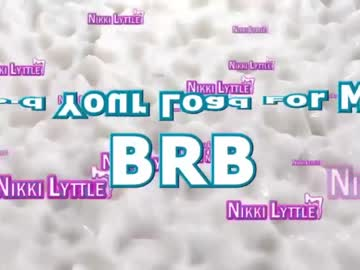 [16-04-20] nikkilyttle record show with toys from Chaturbate