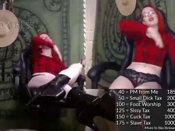 [10-07-20] the_foxtress record private sex video